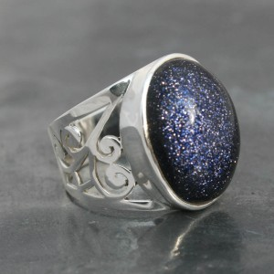 Blue-Goldstone-Ring