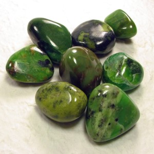 chrysopraseapplegreentumbled
