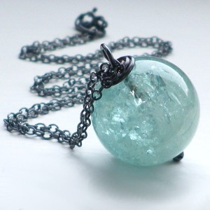 No. 5 Aquamarine pendant by OVGilliesDesigns