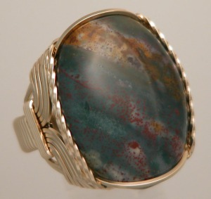 R484 Bloodstone 14k side a