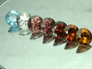 zircon Shades of colors