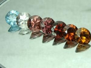 zircon Shades of colors