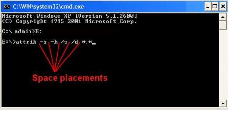 Mengembalikan file yang terkena virus di flashdisk