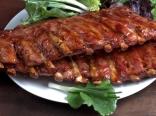 @ racks of succulent marinated pork ribs.