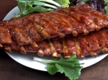 @ racks of succulent marinated pork ribs.