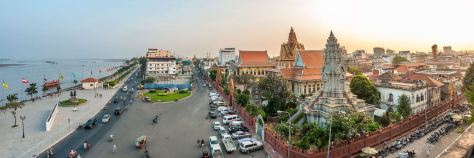 iStock_000031797028_Riverfront_at_Sunset_in_Phnom_Penh